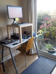 Cheap IKEA Standing Desk